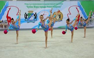 Юные гимнастки выступят на первенстве Новосибирска
