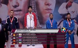 Новосибирский каратист завоевал единственную медаль российской сборной на турнире в Париже