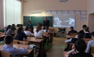 Паралимпийцы НЦВСМ участвуют в уроках доброты