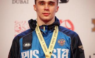 Новосибирский каратист Илья Грановесов завоевал «серебро» международного турнира в Дубае