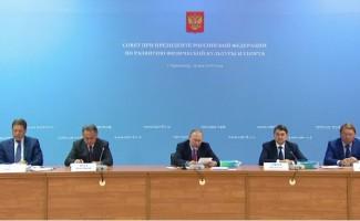 Путин: необходимо пересмотреть систему подготовки спортсменов в России