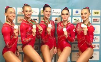 Этап Кубка мира по аэробике: Екатерина Баранова завоевала «бронзу»