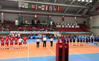 Волейболисты НЦВСМ одержали первую победу на Сурдлимпийских играх