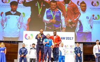 Сергей Федосиенко стал самым сильным на Всемирных играх