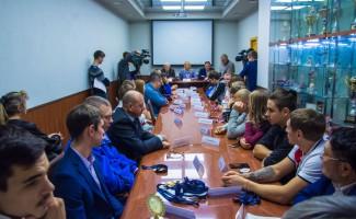 Видеосюжеты по итогам пресс-конференции в НЦВСМ 15 ноября