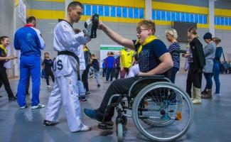 """""""На урок - вместе"""" - в Новосибирске прошёл фестиваль параспорта"""