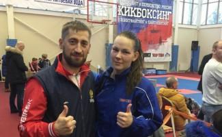 Наталья Рагулина одержала победу на чемпионате России по кикбоксингу