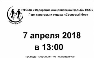 В Новосибирском бору пройдёт фестиваль скандинавской ходьбы