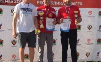 Новосибирские стрелки «захватили» пьедестал этапа Кубка России
