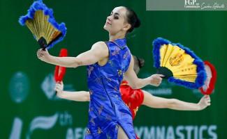 Серебро Азербайджана – Татьяна Конакова стала призёром международных соревнований по спортивной аэробике