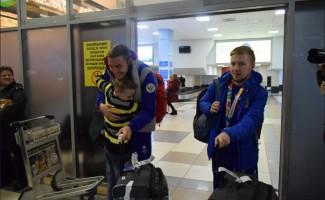 Новосибирск встретил триумфаторов III юношеских Олимпийских игр