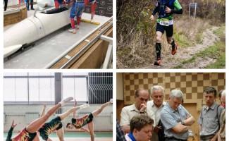 Первенство России по бобслею, чемпионат страны по горному бегу и этап Кубка мира по аэробике - в каких состязаниях участвуют новосибирские спортсмены на этой неделе