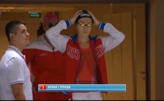 Арина Суркова - бронзовый призёр чемпионата мира по плаванию